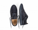 Woven Series | Yale | Navy Hand-Woven 4